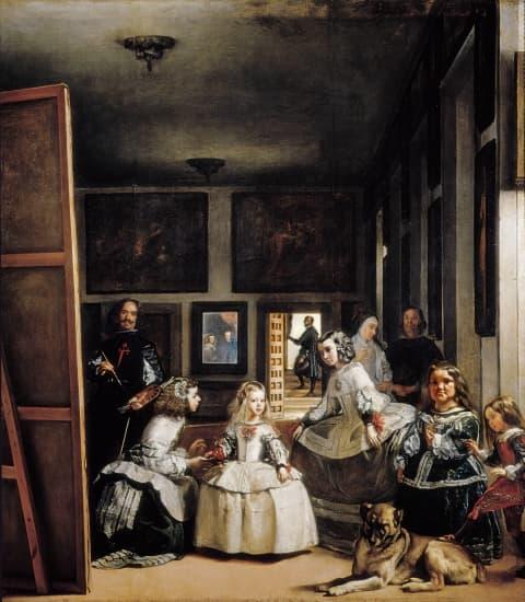 Encyclop die larousse en ligne les m nines ou la famille for Velasquez venus au miroir