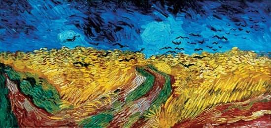 Vincent Van Gogh, Le Champ De Blé Aux Corbeaux