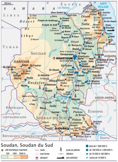 Encyclopédie Larousse en ligne   Soudan en arabe al Sūdān