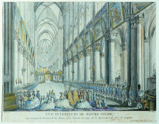 """Résultat de recherche d'images pour """"Marie-Antoinette à Notre-Dame de Paris"""""""