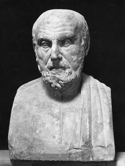 Buste d'Hippocrate