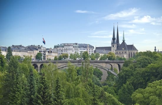 Luxembourg, pont Adolphe