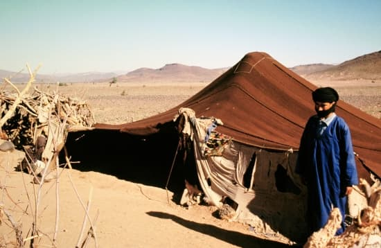 les-touaregs-du-sahara - Photo