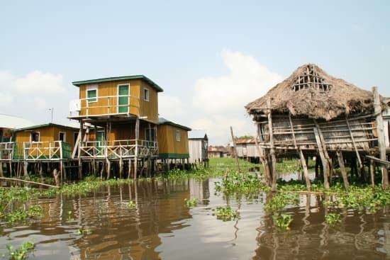 Bénin village lacustre de ganvié