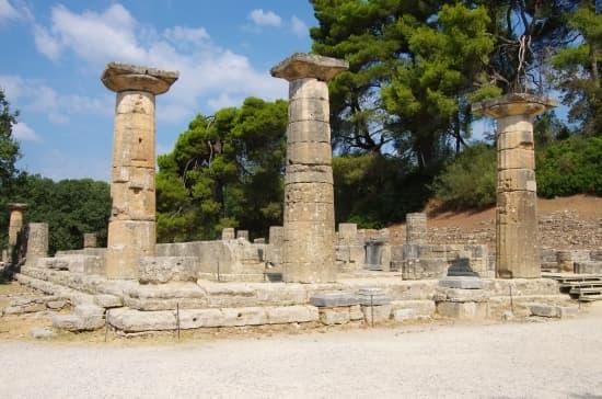 Olympia, La Heroeian'Héraïon