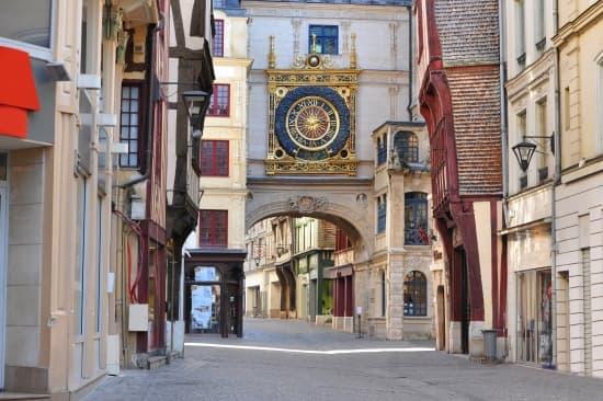 Encyclop die larousse en ligne haute normandie for Haute normandie rouen