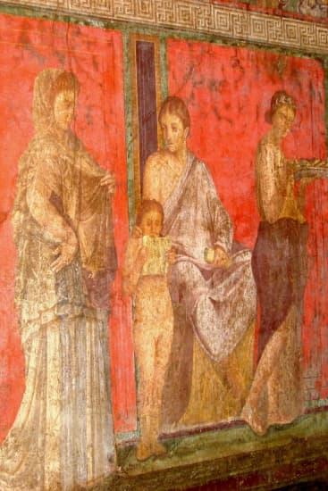 Encyclop die larousse en ligne fresque for Types de peintures murales