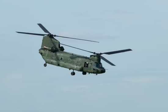 Hélicoptère Chinook