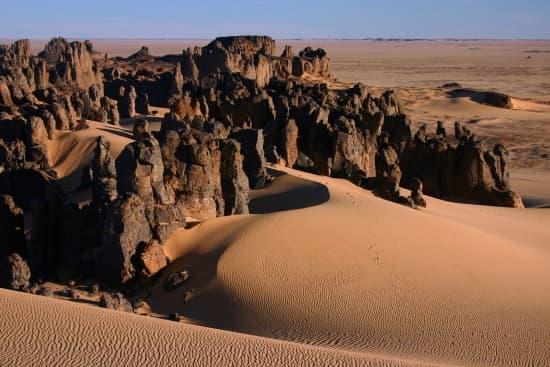 Massif Hoggar, désert du Sahara