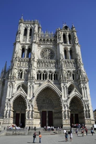 La cathédrale d\u0027Amiens.