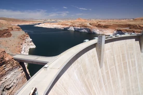 Utah, barrage de Glen Canyon