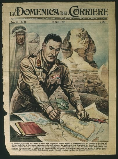 Nasser et la nationalisation du canal de Suez