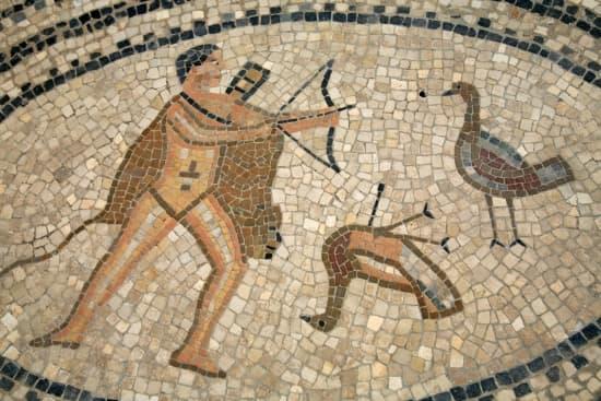 Encyclop die larousse en ligne mosa que italien mosaico du latin m di val m - Decoration romaine antique ...