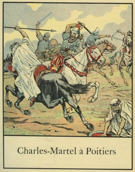 Charles Martel à Poitiers