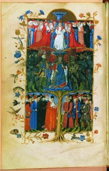 trois ordres société médiévale