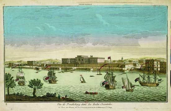 Encyclopédie Larousse En Ligne Compagnie Française Des Indes