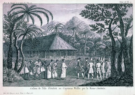 Cession de Tahiti
