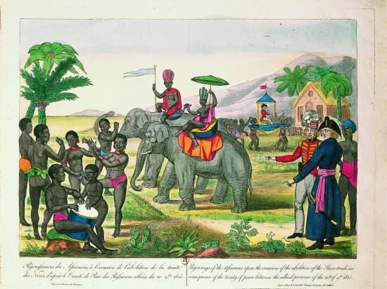 encyclopedie larousse esclavage