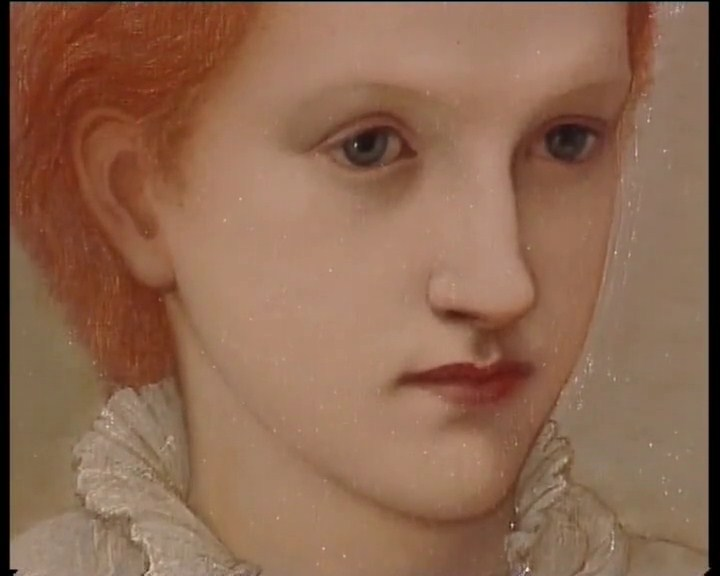 Edward Coley Burne-Jones, Portrait de Lady Balfour (1880).
