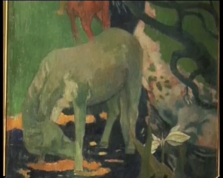 Paul Gauguin, le Cheval Blanc – 1898