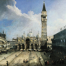 Canaletto, Place Saint-Marc à Venise
