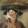 William Hogarth, la Marchande de crevettes