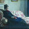 Claude Monet, Méditation. Madame Monet au canapé