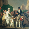 Louis Léopold Boilly, l'Averse