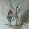 Honoré Daumier, Don Quichotte et la mule morte