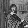 René Descartes à sa table de travail