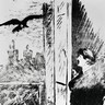 Édouard Manet, illustration du Corbeau