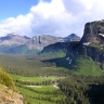 Montagnes Rocheuses, parc national Logan Pass